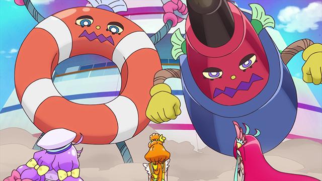 TVアニメ『トロピカル~ジュ!プリキュア』第17話「人魚の奇跡! 変身!キュアラメール!」より先行カット到着! ローラ(CV:日高里菜)がついにプリキュアに-4