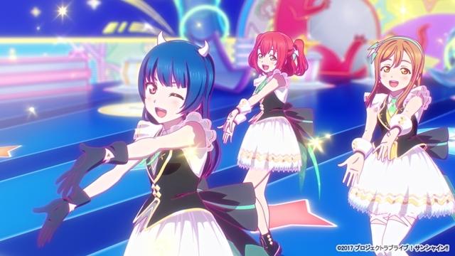 『ラブライブ!サンシャイン!!』新曲「KU-RU-KU-RU Cruller!」アニメーションPV付きシングルが9/22発売! ゲーム『モンスターストライク』とコラボ決定-4