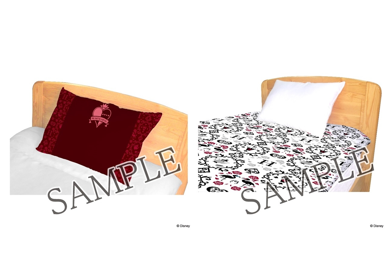 『ツイステ』各寮イメージのブランケット、寝具カバーがアニメイト通販限定で登場
