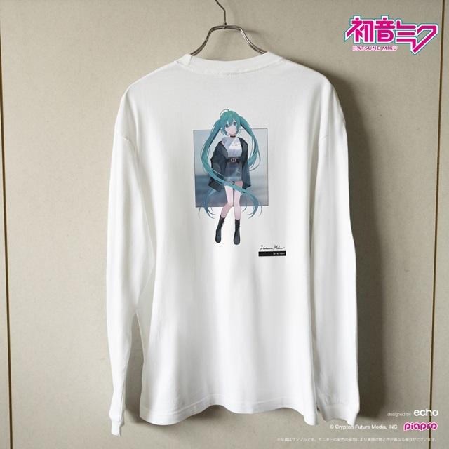 『初音ミク』とイラストレーター・イノウエワラビさん、chiriさん、八三さんのコラボTシャツが登場!-9
