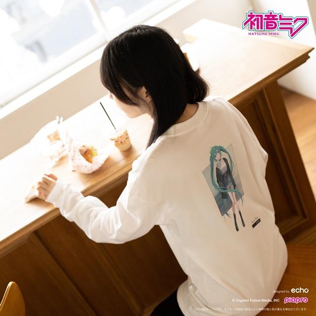 『初音ミク』とイラストレーター・イノウエワラビさん、chiriさん、八三さんのコラボTシャツが登場!-18