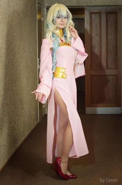 人気作『天元突破グレンラガン』ヨーコ、ニアの美しいコスプレ特集! 特徴的な衣装を再現した写真をお届け-3
