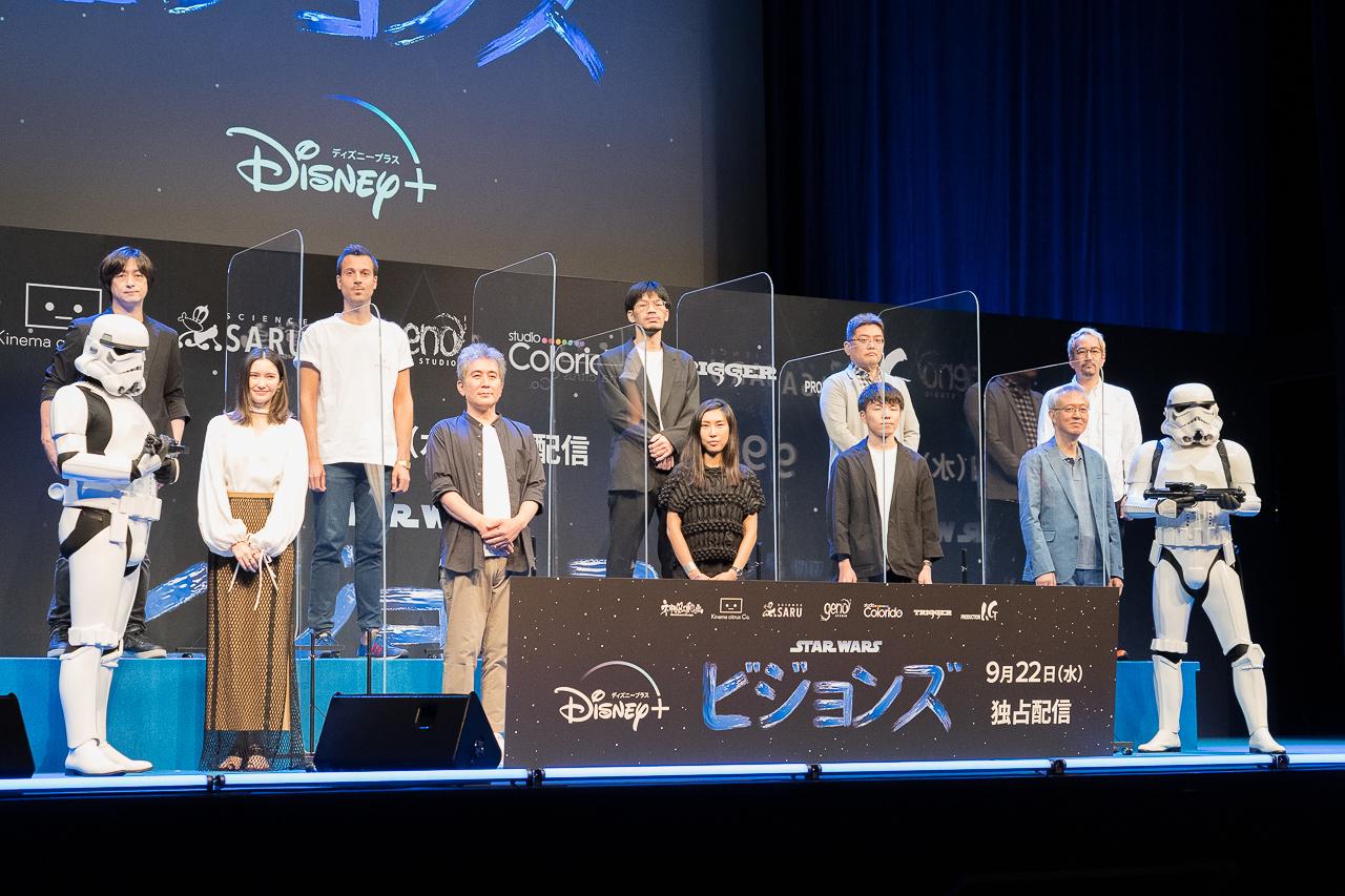 アニメ『スター・ウォーズ:ビジョンズ』今石洋之、神山健治ら監督陣が集結したイベントレポート