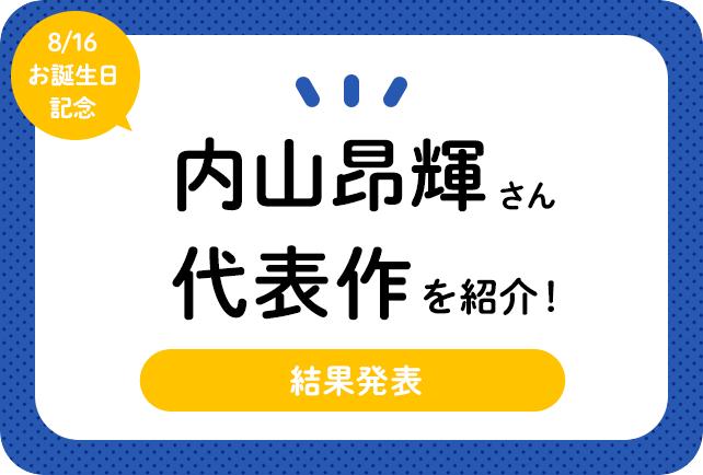 声優・内山昂輝さん、アニメキャラクター代表作まとめ(2021年版)