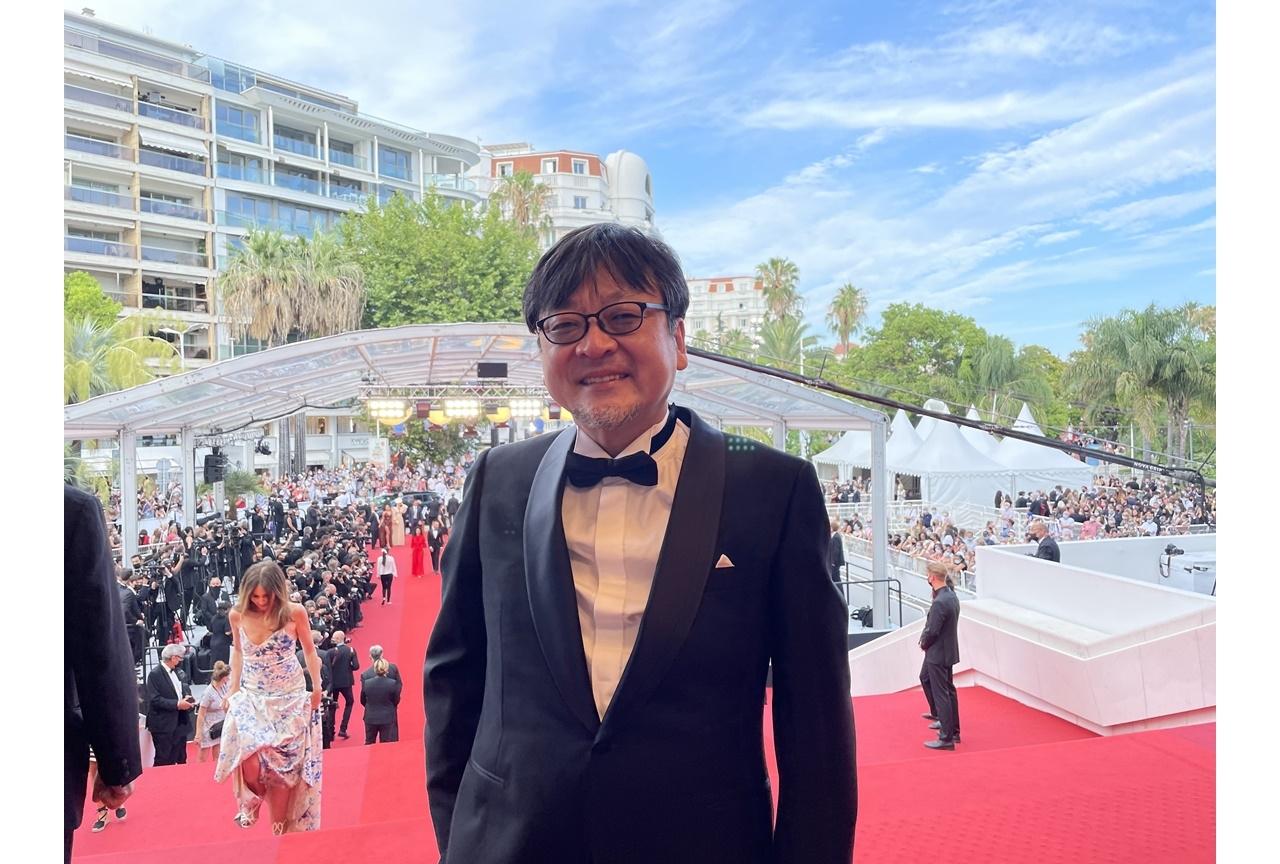 アニメ映画『竜とそばかすの姫』カンヌ国際映画祭公式レポートが到着