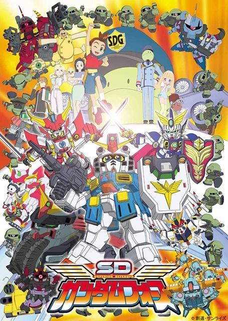 アニメ『SDガンダム』シリーズ3タイトルを収録した「SDガンダム Blu-ray コレクションボックス」が発売決定! トーク番組「みんなでSDガンダムを懐かしむLIVE配信」の生配信も決定!-7