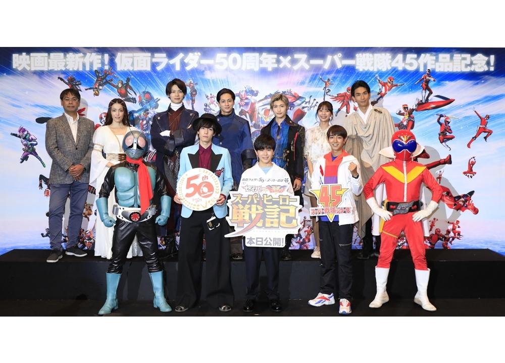 映画『セイバー+ゼンカイジャー スーパーヒーロー戦記』初日舞台挨拶の公式レポ到着!
