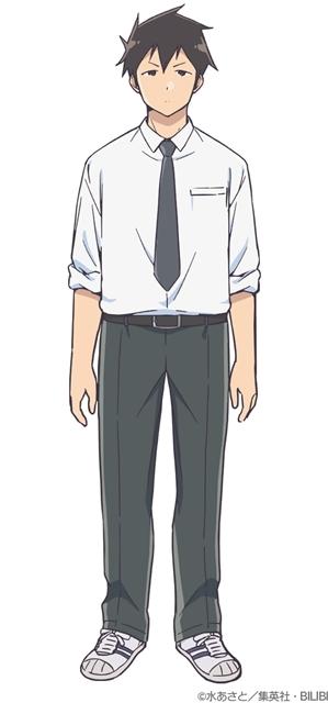 ジャンプ+連載中の『阿波連さんははかれない』2022年4月TVアニメ化決定! 出演声優に水瀬いのりさん・寺島拓篤さん、コメントも到着