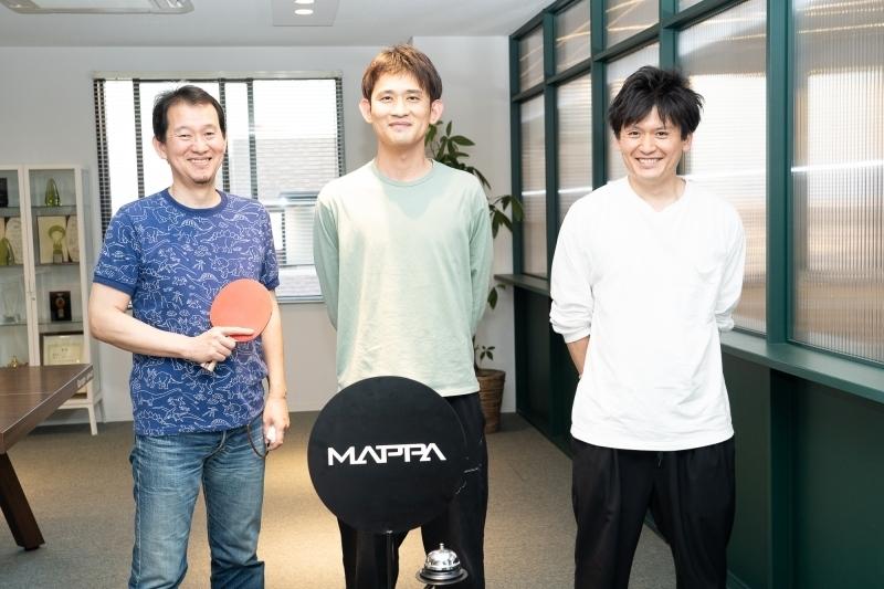 ▲From left to right – Tadashi Hiramatsu, Manabu Otsuka, and Makoto Kimura