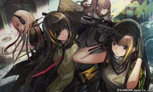 ▲様々な銃器が可愛い女の子に!お気に入りの戦術人形と一緒に戦場を駆け抜けよう!