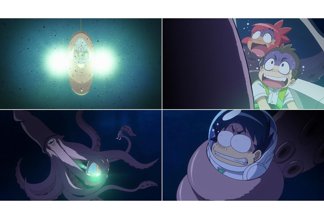 アニメ映画『深海のサバイバル!』が本日公開!本編映像が解禁