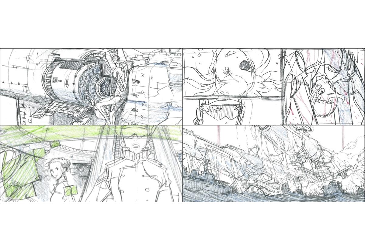 『ヱヴァ:Q EVANGELION:3.333』BD特典「前田真宏イメージボード集」一部公開