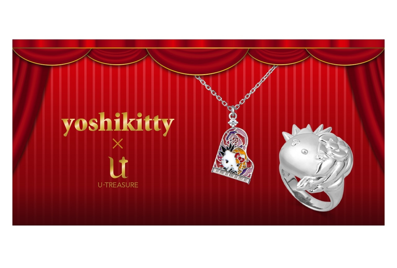 「Yoshikitty」のシルバーリング、ネックレスが登場