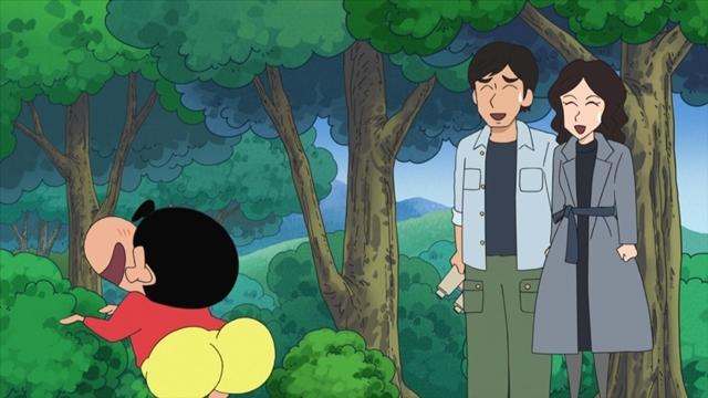 TVアニメ『クレヨンしんちゃん』9/25に映画『総理の夫』とのコラボエピソードを放送! W主演の田中圭さん・中谷美紀さんが、映画の役柄でしんのすけと共演-3