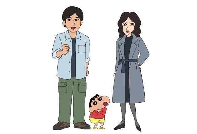 TVアニメ『クレヨンしんちゃん』9/25に映画『総理の夫』とのコラボエピソードを放送! W主演の田中圭さん・中谷美紀さんが、映画の役柄でしんのすけと共演-4