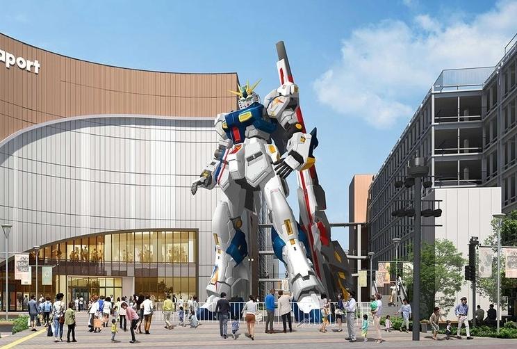 福岡にνガンダムが立つ|新機体「RX-93ffν ガンダム」に施された新武装とは?