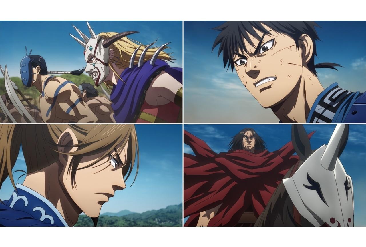 TVアニメ『キングダム』第3シリーズ第23話あらすじ・場面カット到着