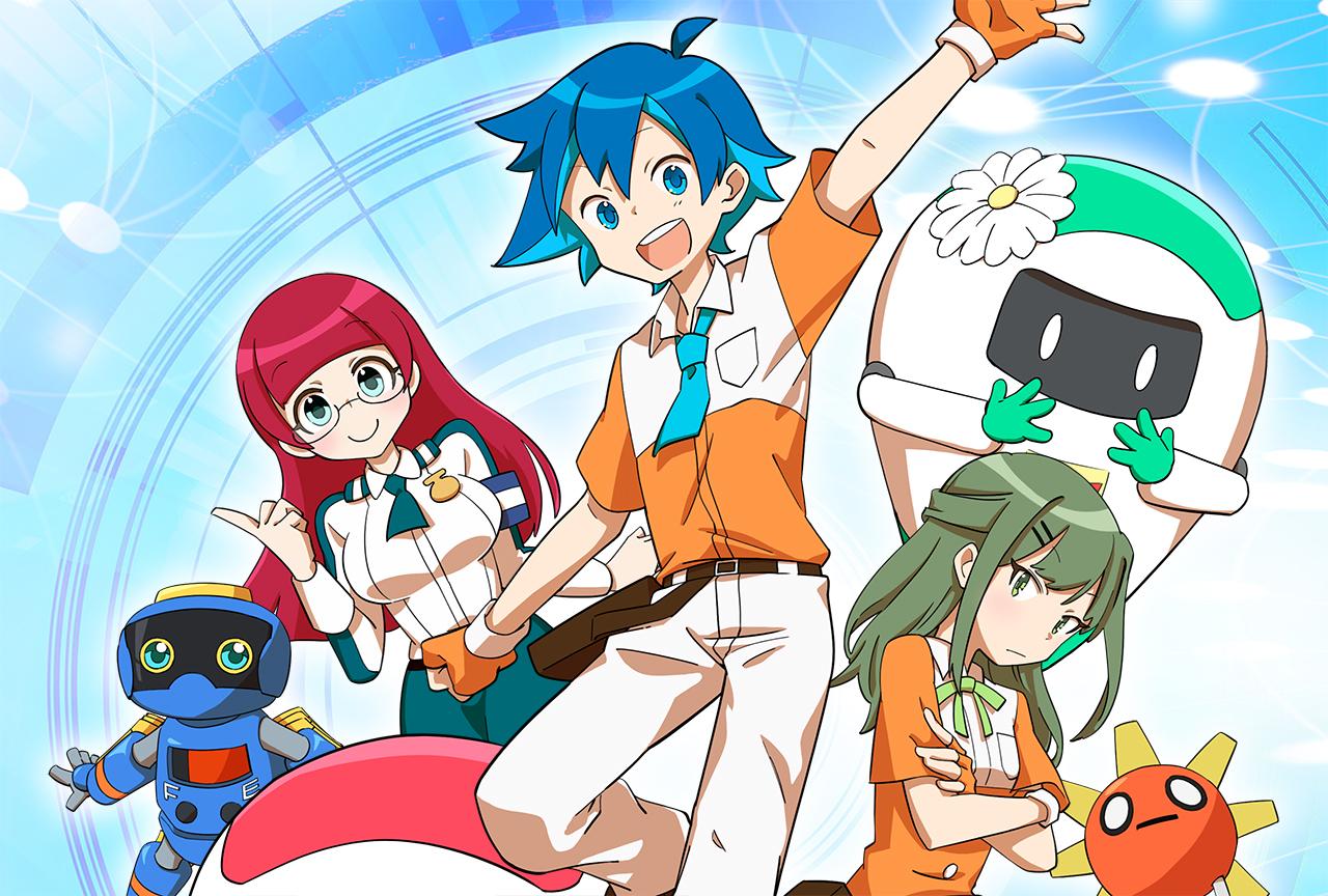 下野紘、関智一ら出演の「ワールドロボットサミット」コミック動画が公開