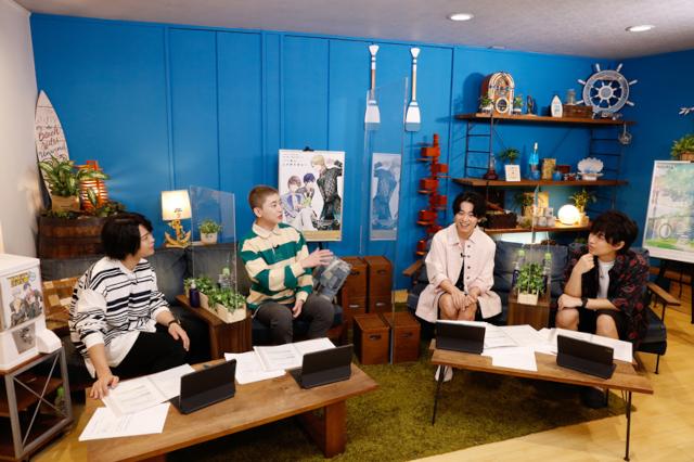 土岐隼一さん、山谷祥生さん、山下大輝さん、寺島惇太さん出演の「プロラジ生特番~Growth編~」から、配信を終えたばかりの4人へのインタビューが到着!