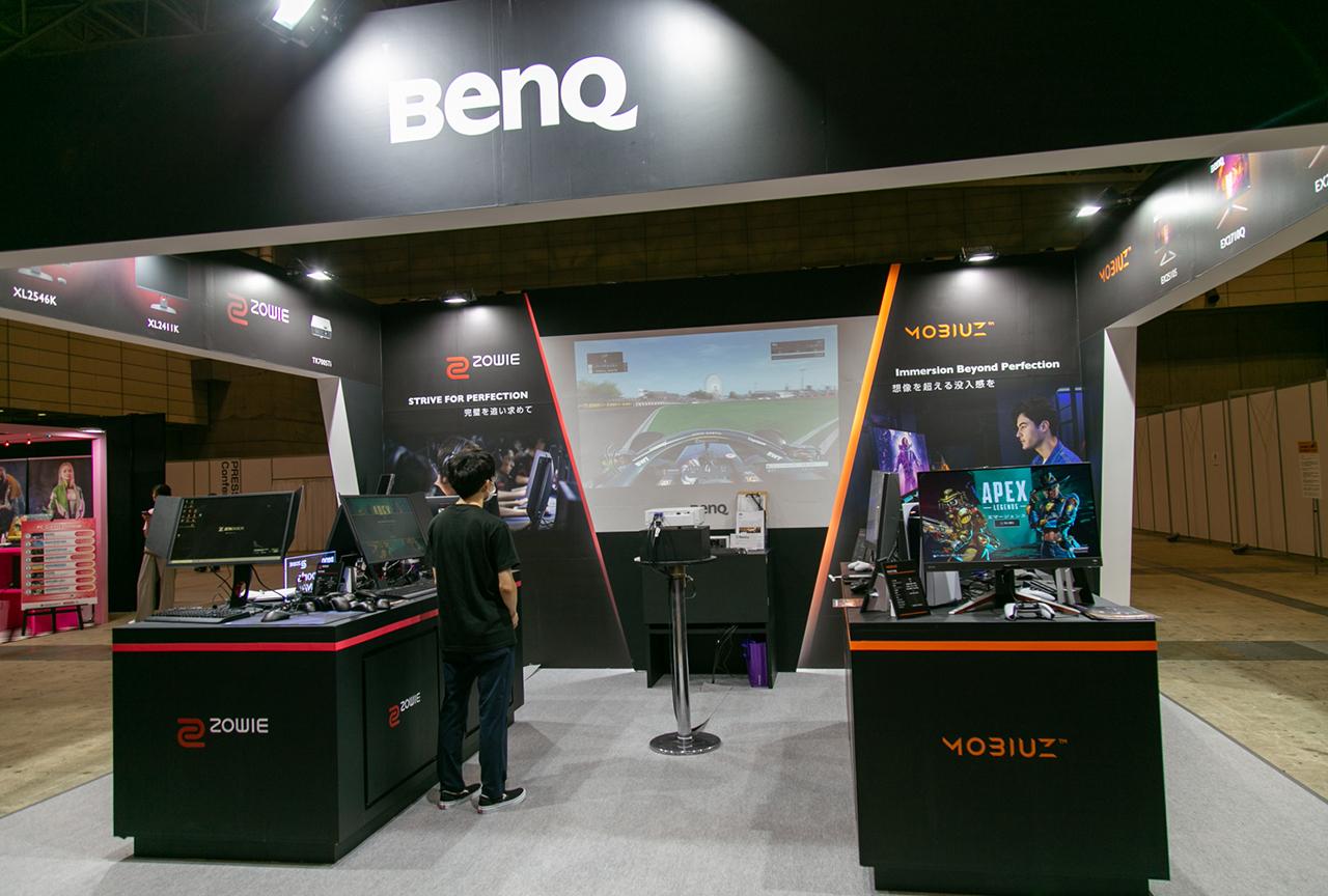 TGS2021出展の「BenQ」ブースをレポート