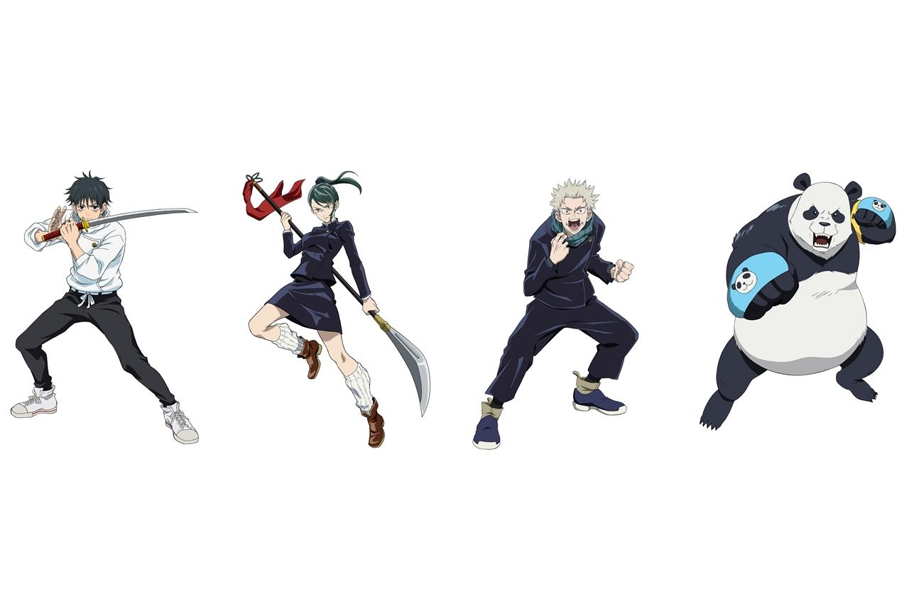 『劇場版 呪術廻戦 0』憂太、真希、棘、パンダの最新ビジュアルが解禁