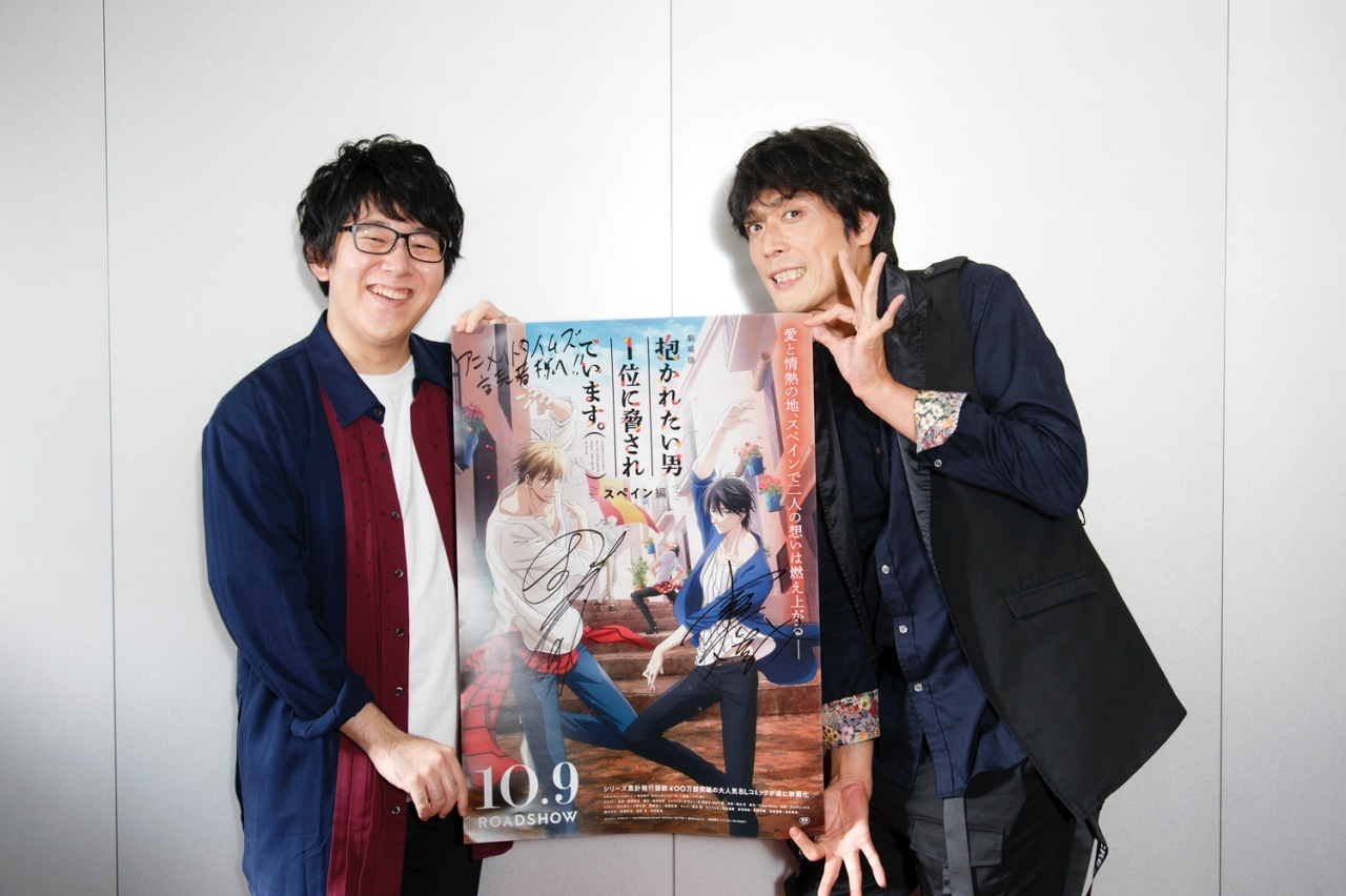 『劇場版 だかいち』高橋広樹&小野友樹 対談インタビュー【vol.2】