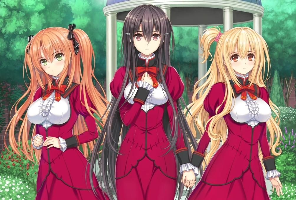 OVA『乙女はお姉さまに恋してる』グッズ、キャラクター、コメント公開