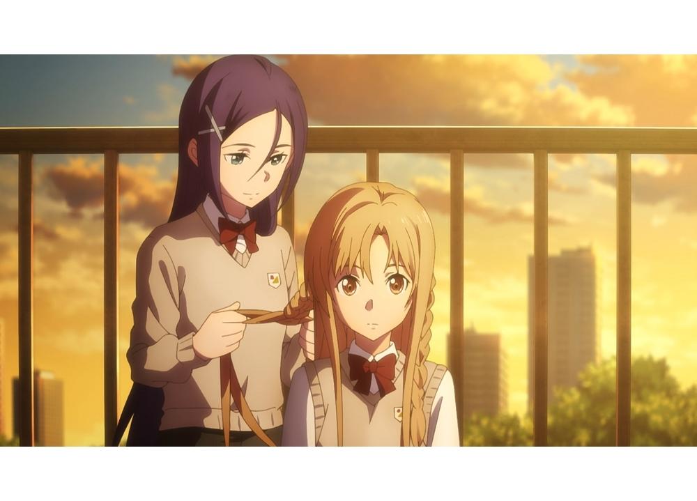 『劇場版 SAO  プログレッシブ』アスナとミトの友情を描く公開直前映像公開!