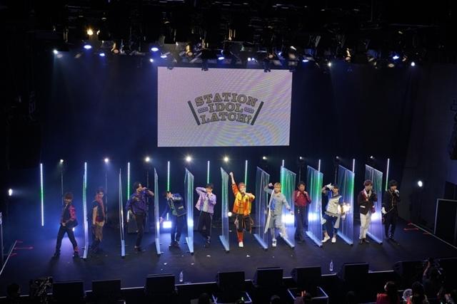 『STATION IDOL LATCH!』初のファンミーティングより公式レポートが到着! 井上和彦さん、梶原岳人さんら11名の声優陣が登壇!-9