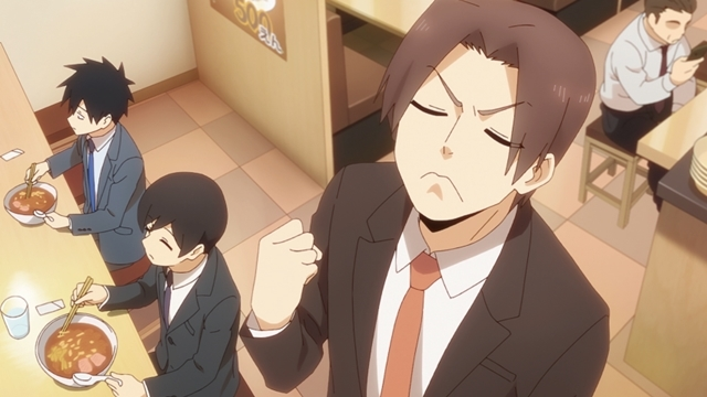 秋アニメ『先輩がうざい後輩の話』第2話「うどん、ときどき満月」先行場面カット&あらすじ到着! 双葉は「もしかしたら、武田先輩に女性として見られていない…?」と思うようになり……-3