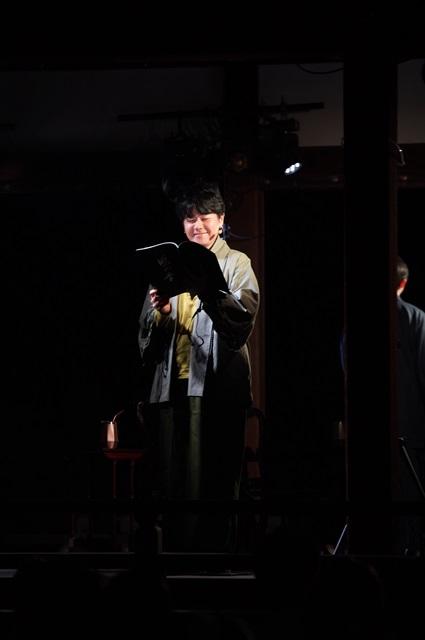 朗読劇『鴨の音』第二夜「読還-よみがえり-」公式レポート到着! 京都・下鴨神社にて、声優・岸尾だいすけさん、下野紘さん、前野智昭さん、島﨑信長さんが4兄弟を熱演!-5