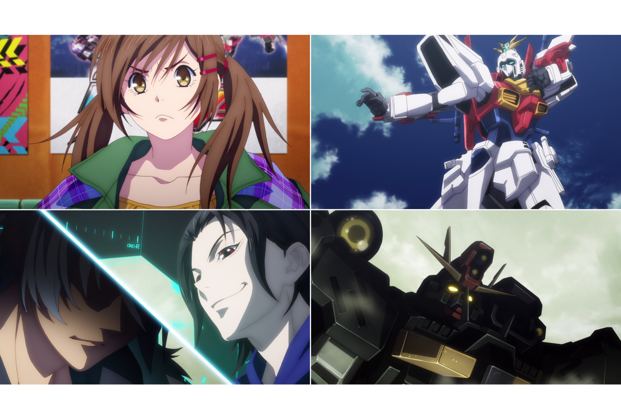 秋アニメ『ガンダムブレイカー バトローグ』第1話先行場面カットが公開