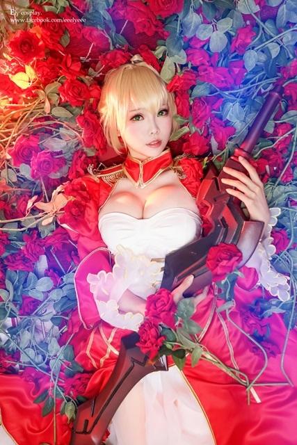 人気アプリゲーム『Fate/Grand Order』より、ネロ・クラウディウス、沖田総司、モードレッド、清姫、マリー・アントワネットの美しいコスプレ特集!-1