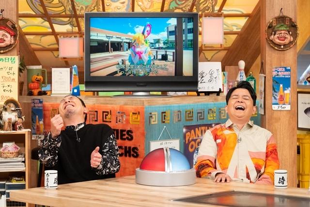 キュアサマーとファイルーズあいさんの「トロピカル相席」に千鳥が爆笑ツッコミ!? 『映画トロピカル~ジュ!プリキュア 雪のプリンセスと奇跡の指輪!』と『相席食堂』がコラボ!-1