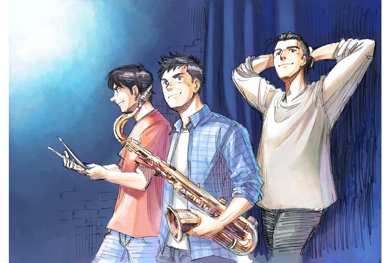 大人気ジャズ漫画『BLUE GIANT』2022年にアニメ映画化決定
