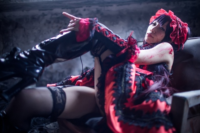 『デート・ア・ライブ』時崎狂三のコスプレ写真!かわいく美しい写真の数々をお届け-7