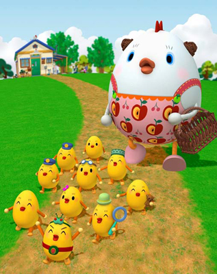 三石琴乃さんがスーパーママさんを演じる!ほんわかCGアニメ『コケッコーさん』キャスト陣に聞きました!