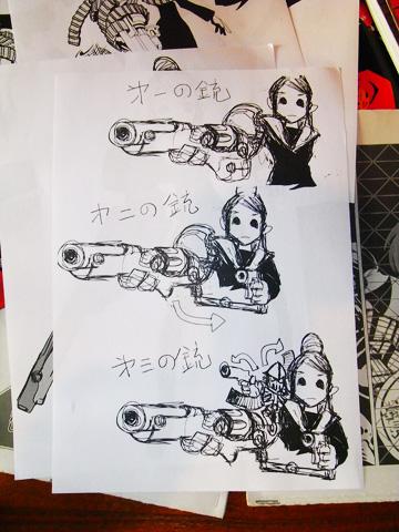 コミック・アース・スター連載の『ノブナガン』久正人氏インタビュー