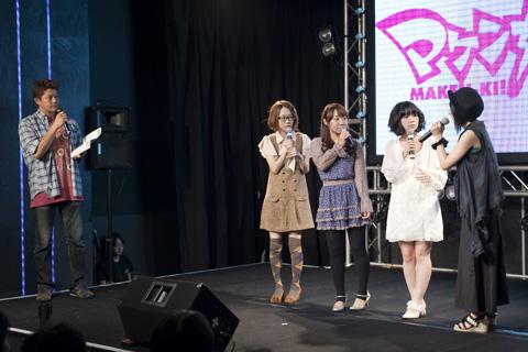 TVアニメ『マケン姫っ!』第1話上映会をレポート!