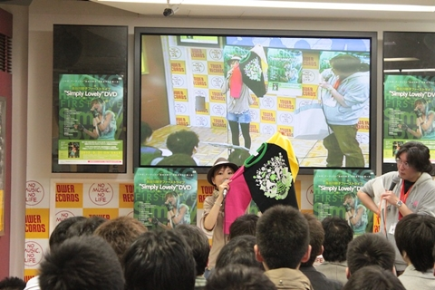 長谷川明子さん1stライブDVD発売記念イベントの模様をレポート