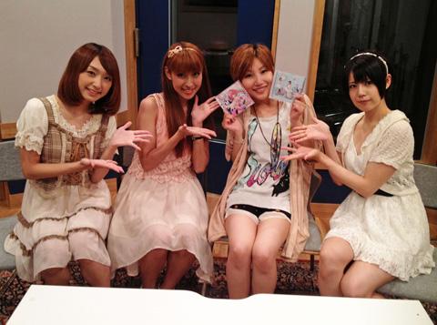 期待の声優ユニット、Sweetyが長谷川明子のラジオに出演