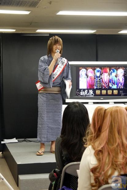 【AGF2012】『白虎隊 志士異聞記』ステージをレポート!