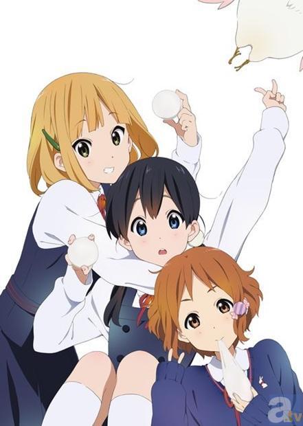 1月より放映開始の京アニ新作アニメ『たまこまーけっと』キャラクター設定画像が到着!
