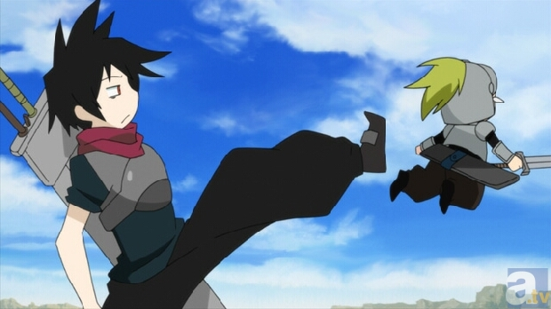 アニメ『戦勇。』から新たな場面カットが到着!