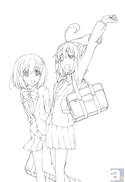 ゆるくない系日常ギャグアニメ『帰宅部活動記録』7月より放送化決定
