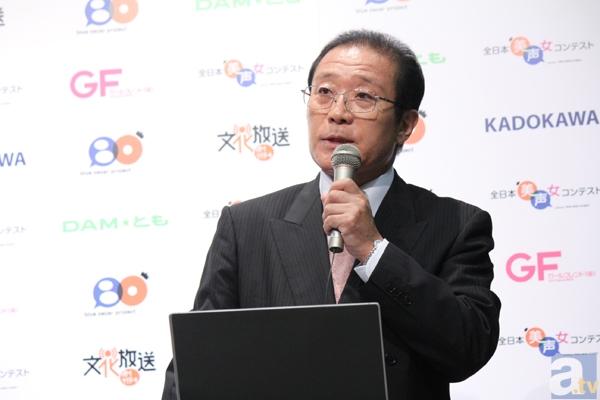 オスカープロモーション×青二プロダクションによる新企画「全日本美声女コンテスト」開催決定! 記者会見には、菊川さん、剛力さんに加え、声優の野沢さん、古谷さんが登壇の画像-4