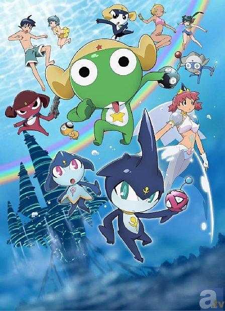 春休み編成情報が到着! 3月24日から劇場版『ケロロ軍曹』5作品が、ディズニーXDで全てオンエア!