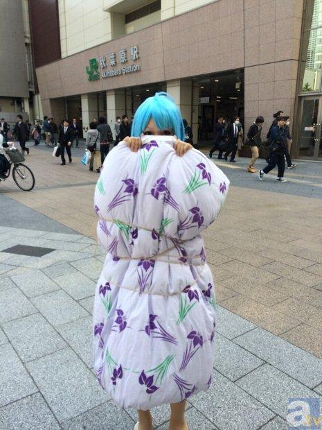 『電波女と青春男』Blu-ray BOX発売記念、主人公・藤和エリオが秋葉原を練り歩く!-1