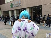 『電波女と青春男』主人公・藤和エリオが秋葉原を練り歩く!