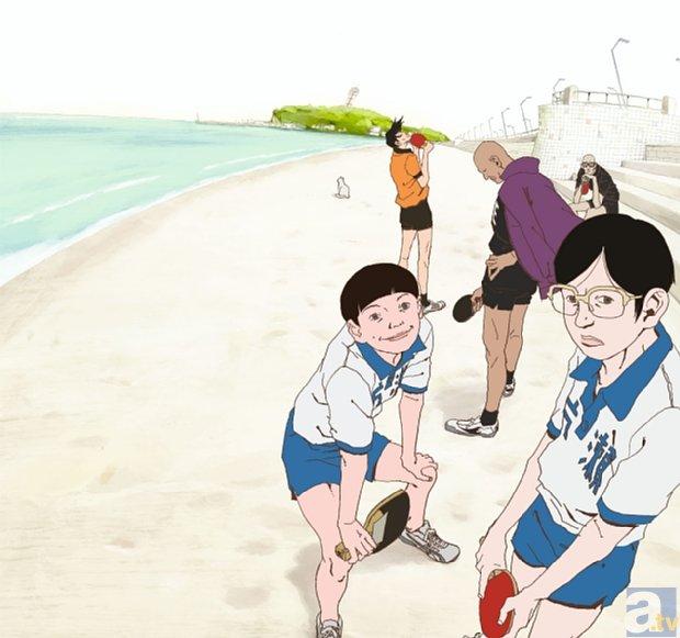 アニメ『ピンポン』のオールナイト上映イベントが開催決定!